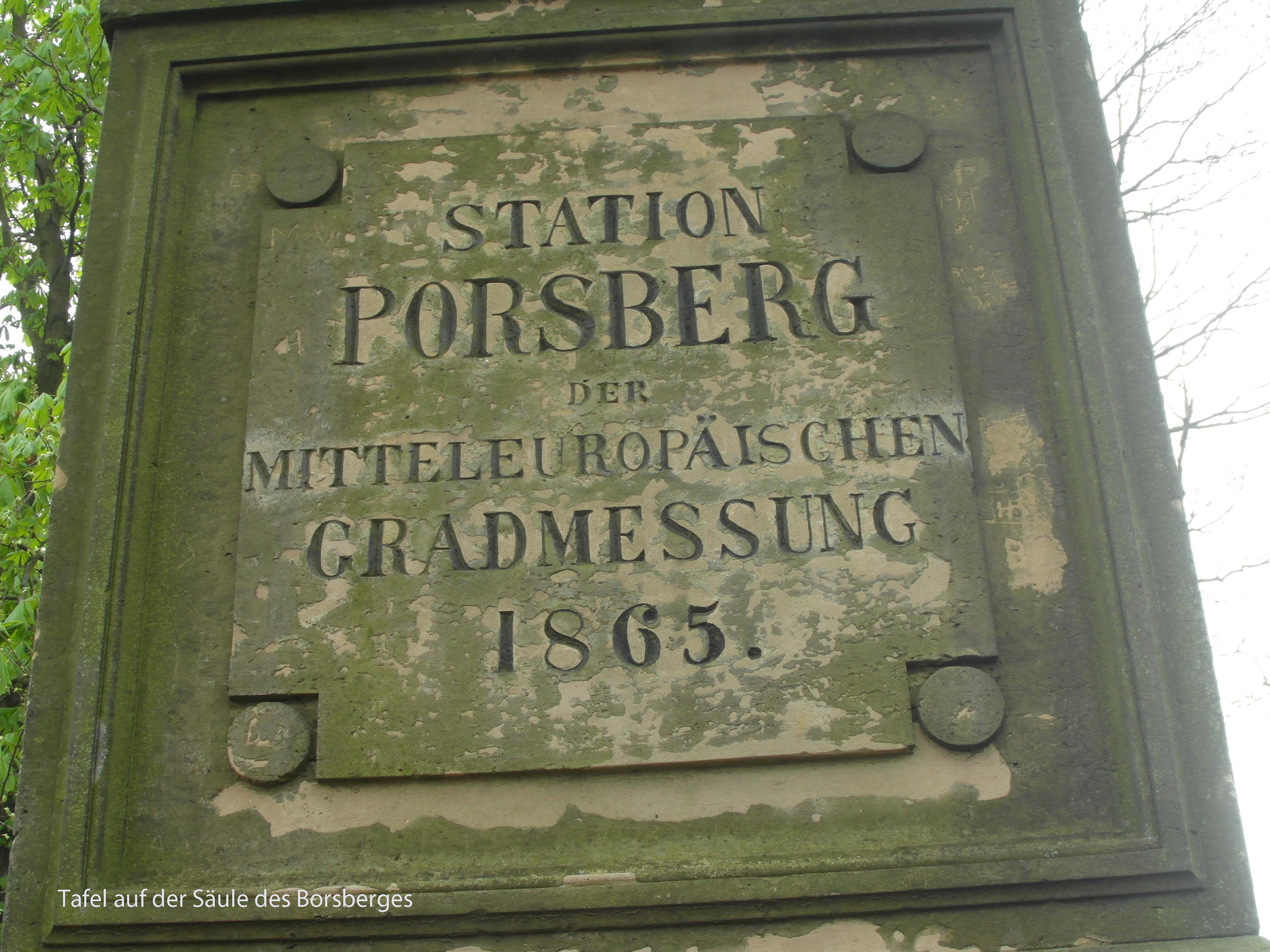 3 Tafel am Messpunkt Borsberg 2 Kopie