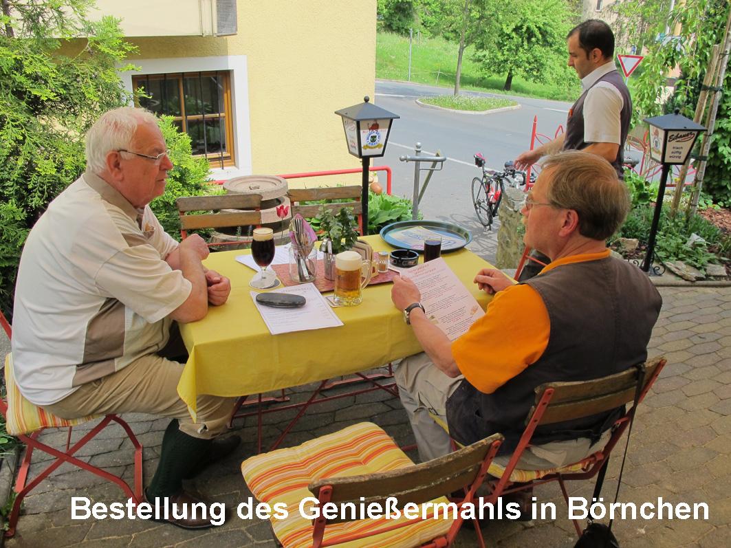006-Mittagsrast im Landgasthof Börnchen
