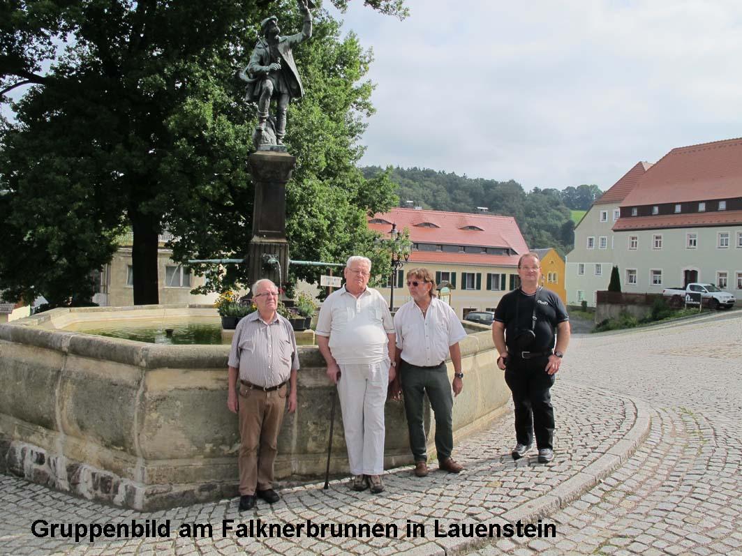1-Lauenstein Falknerbrunnen