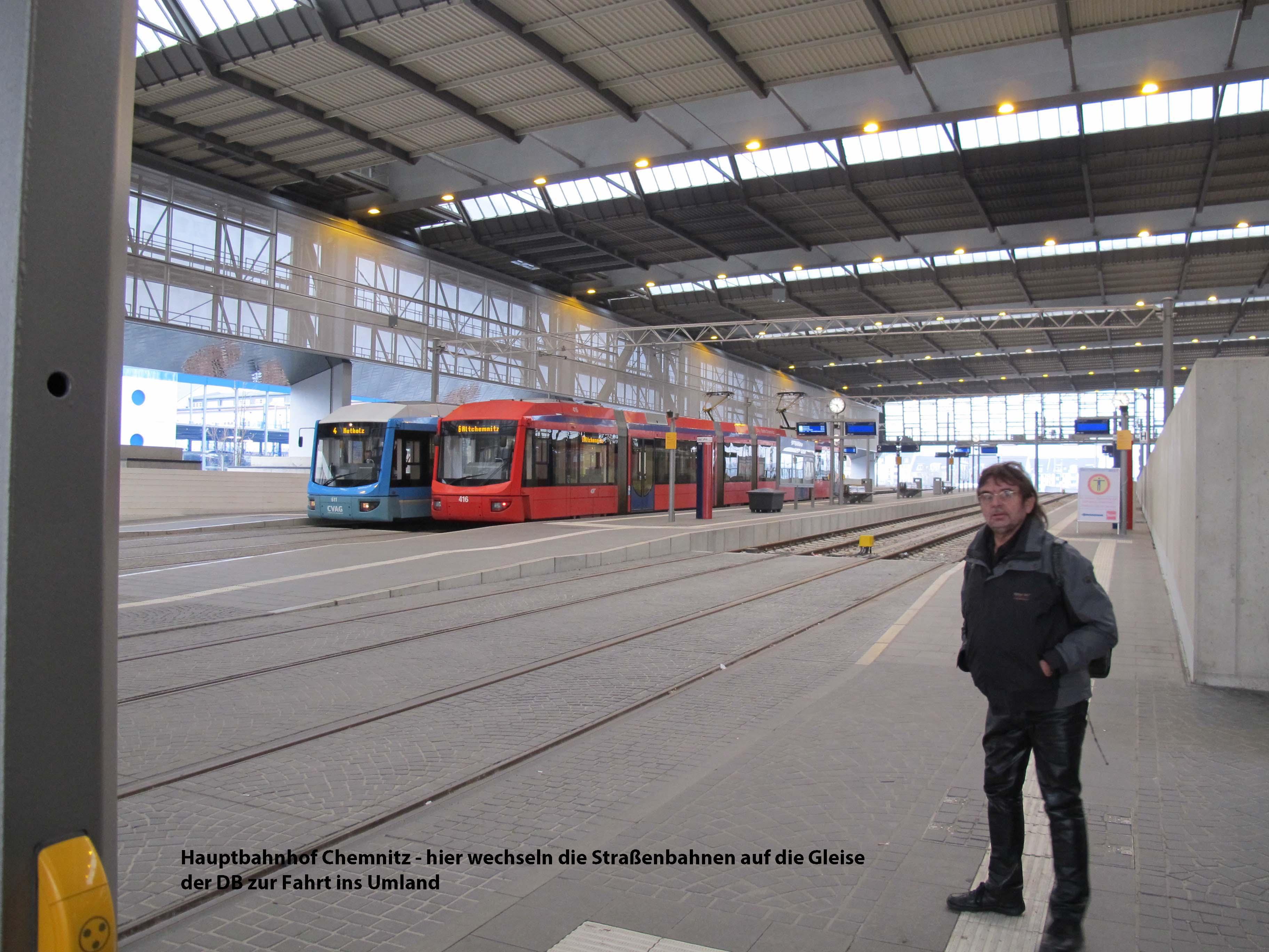 7 Hbf Chemnitz-Tram