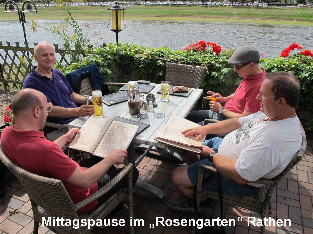 4 - Rast im Rosengarten