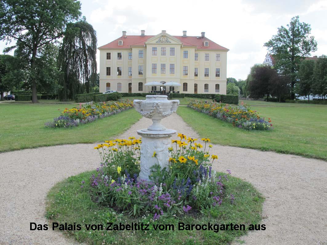 4 - Palais aus den Barockgarten