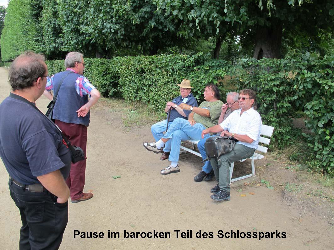 6 - Pause im Park